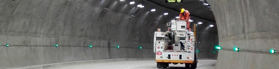 Iluminación Túneles LED