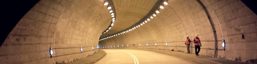 Iluminación de Túneles